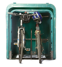 2 Bicycle Pod, Bicycle Safe, Bicycle Locker