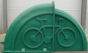 Light green Bikeshel