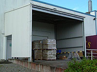Arba - Enclosed Loading Bay Canopy